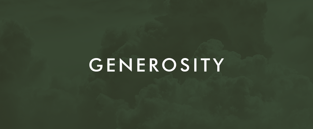 Faith Culture Generosity
